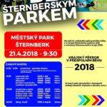 Běh šternberským parkem & krajský přebor v přespolním běhu