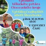 Vyhlášení Běžeckého poháru dětí a mládeže Olomouckého kraje 2018
