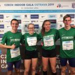 Štafeta Olomouckého kraje na Czech Indoor Gala 2019