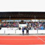 Slavnostní otevření stadionu v Zábřehu