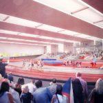 Brněnští atleti usilují již několik let o realizaci atletické haly kampus v Brně - Bohunicích.